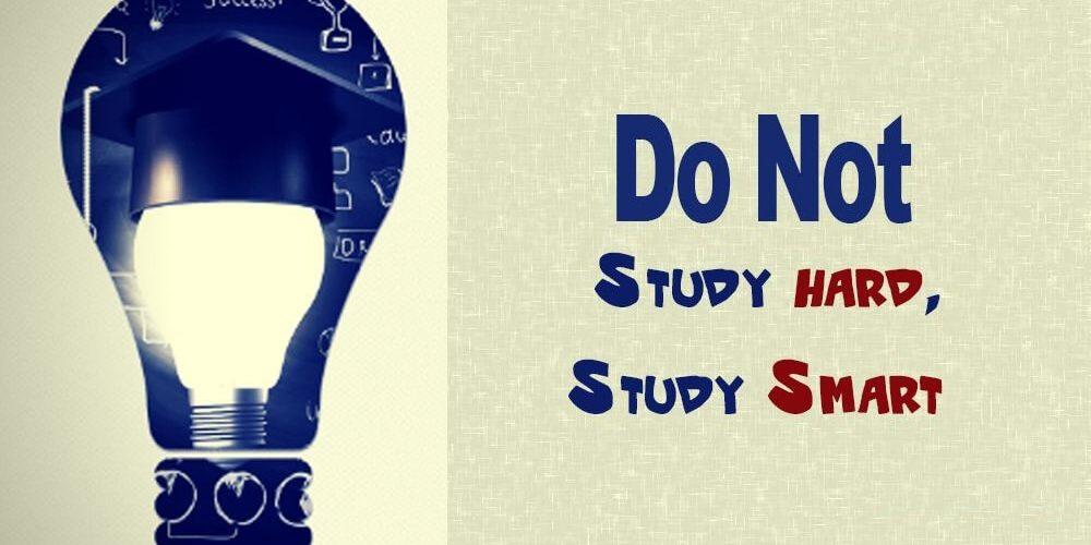 STUDY SMART AND SAVE TIME