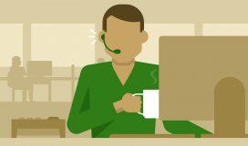 customer service workplace